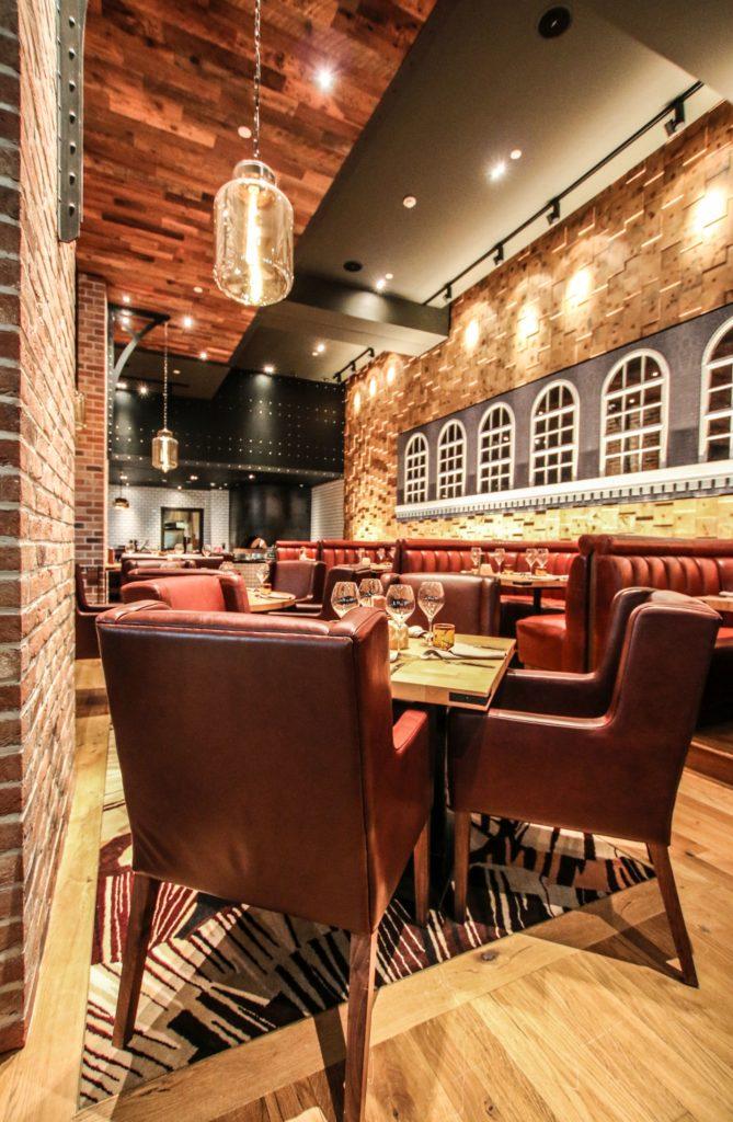 Hospitality Designs The Hide Restaurant Refurbishment