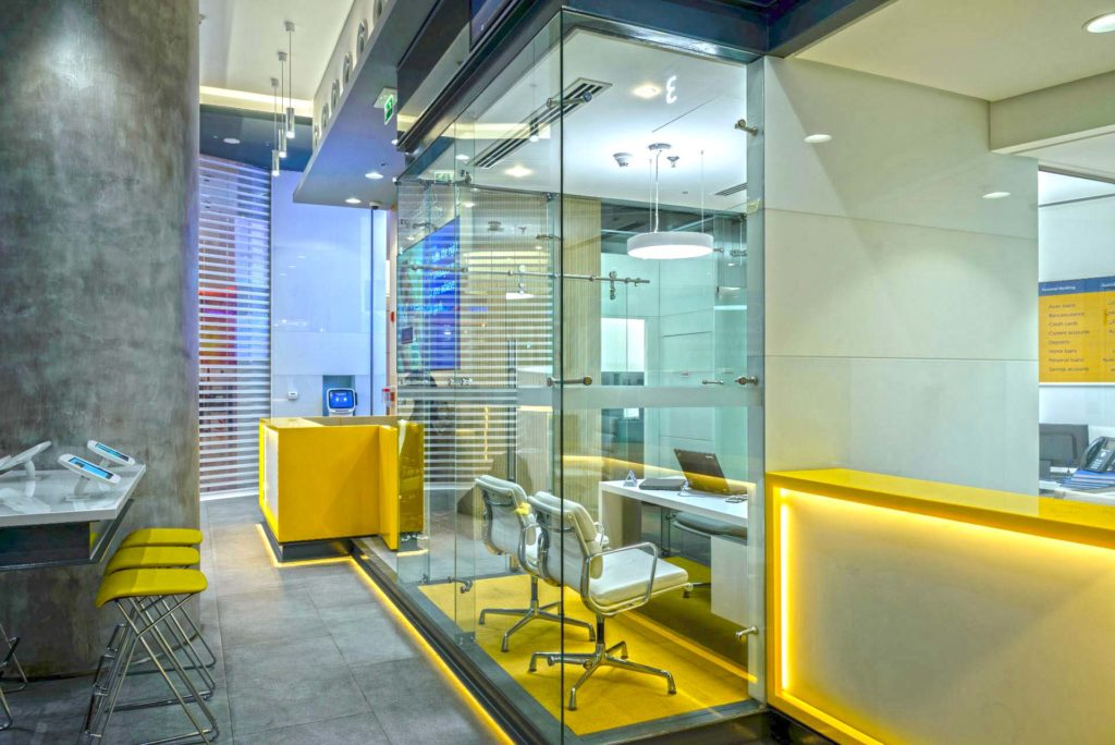 Bank/Financial/Investments Designs: Emirates NBD, Dubai Mall