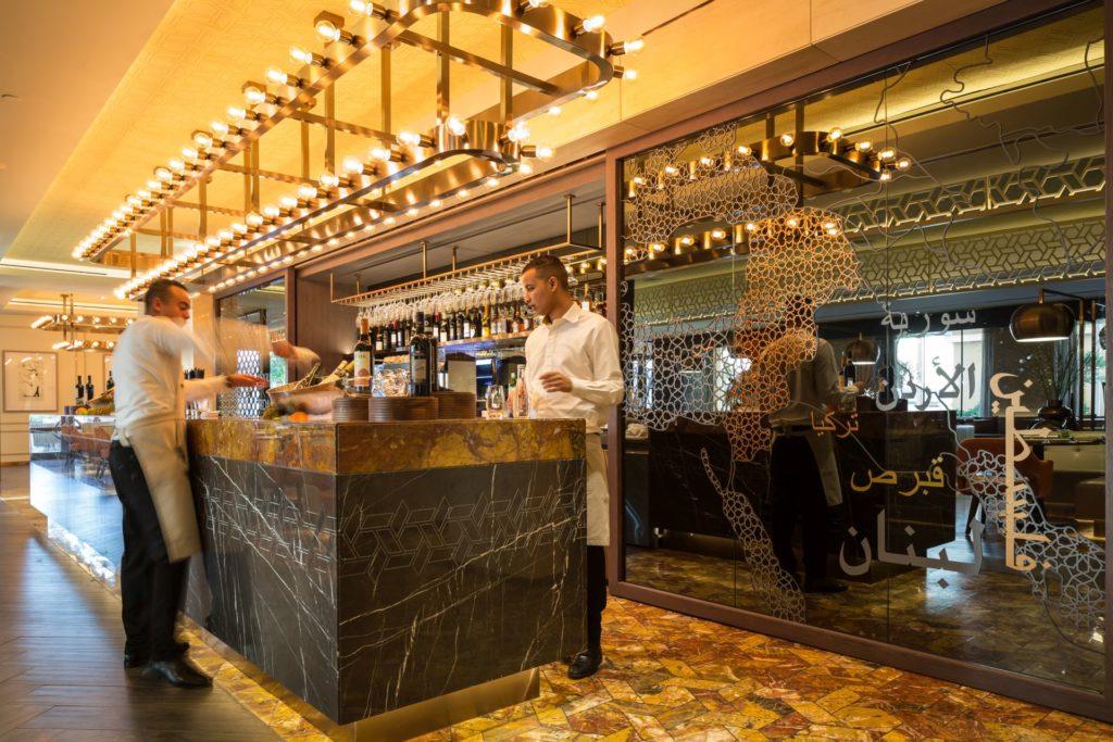 Restaurant Kitchen All Day hospitality designs: olea restaurant, kempinski - dubai - love