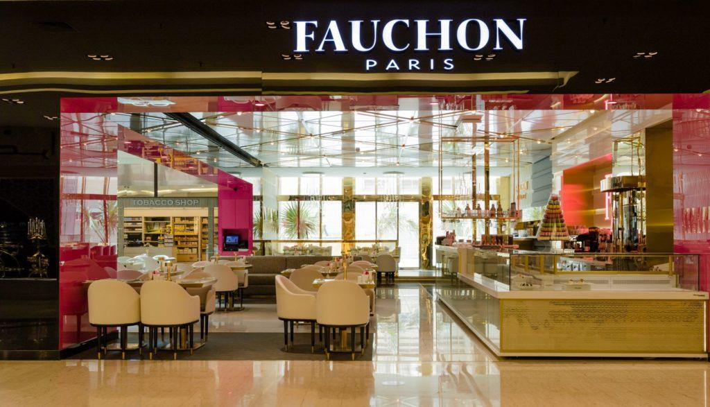 Hospitality designs fauchon salhiya complex kuwait