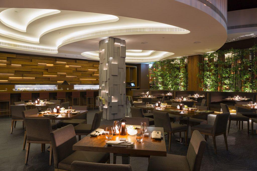 Hospitality designs koi restaurant st regis saadiyat