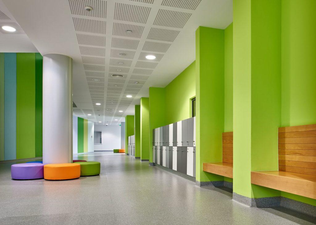 Best Corridor Design: Education Designs: Emirates International School, Dubai