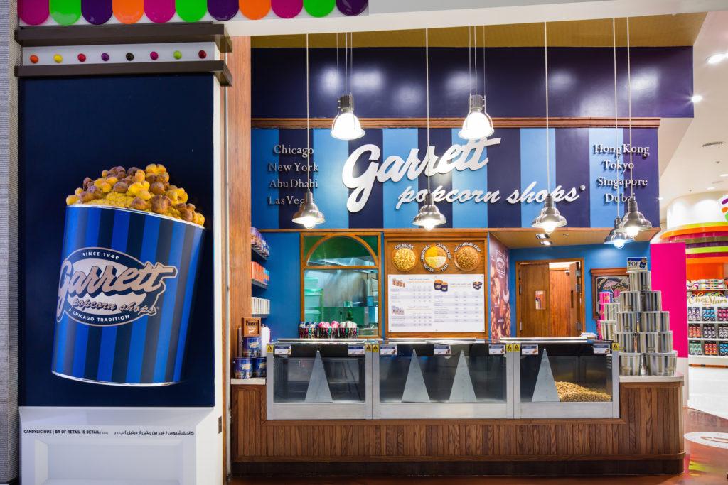 Popcorn, candylicious, Dubai, interior, design