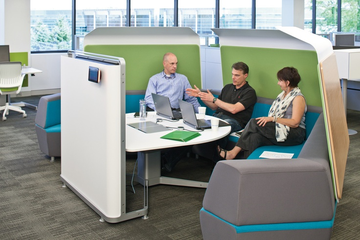Steelcase - Collaborative - StartUp Workspace Interior Design