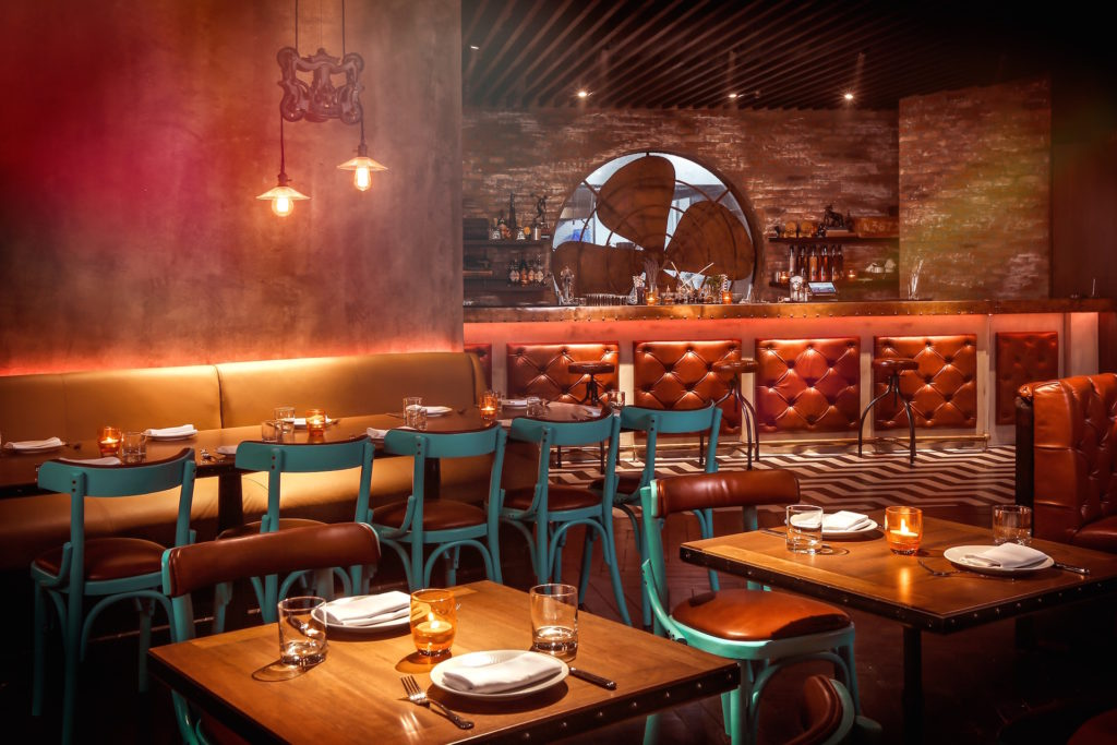 Catchy NYC, Restaurant, Interior Design, Dubai, Lighting, Industrial Design