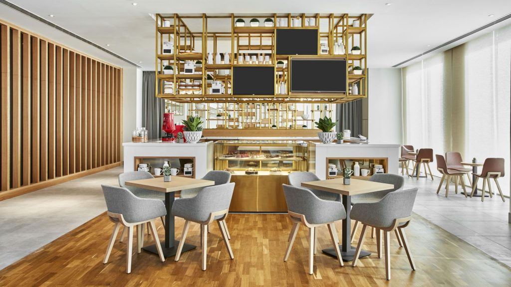 Hilton Garden Inn, Dubai Mall - Restaurant Design - Blog