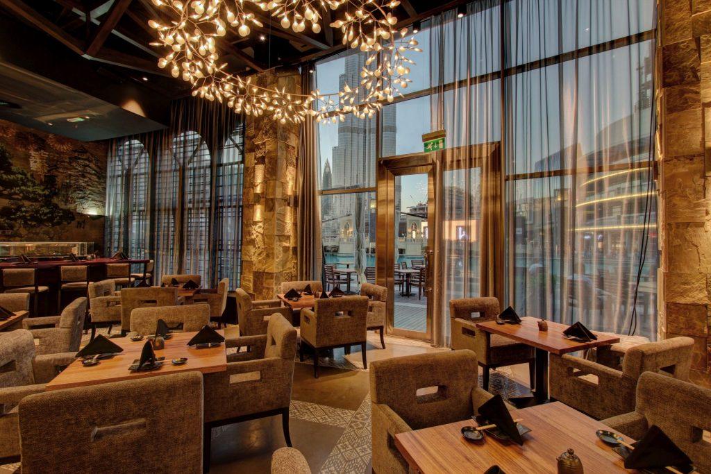 Katana Dubai - Restaurant Design Blog