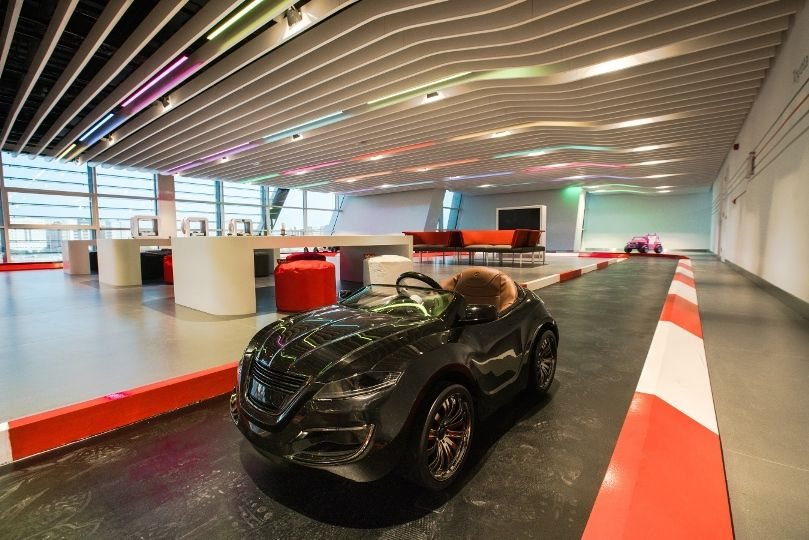 Retail, Transportation Designs: The Wave - Al-Futtaim Motors, Abu Dhabi - Love That Design