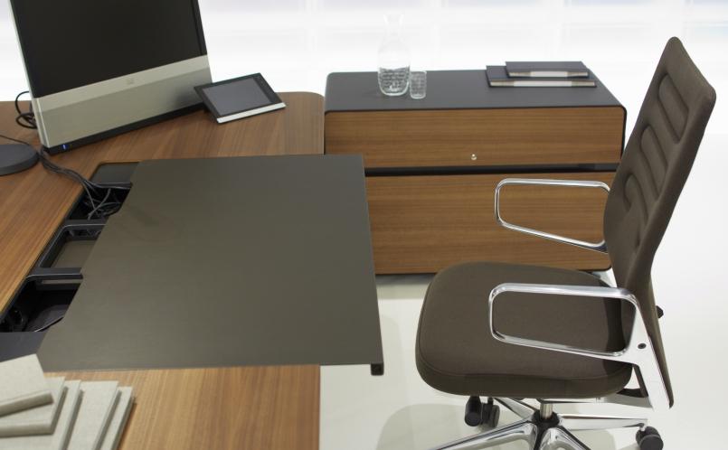 ad hoc executive storage love that design. Black Bedroom Furniture Sets. Home Design Ideas