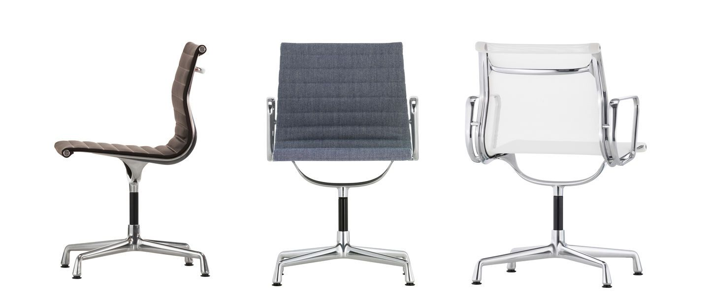 eames aluminium chairs love that design. Black Bedroom Furniture Sets. Home Design Ideas