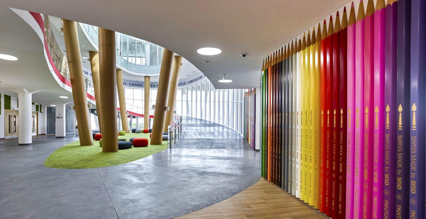 Education Designs The Swiss International Scientific School Of Dubai Al Jaddaf Love That Design