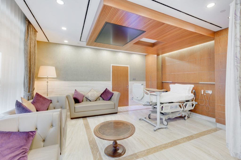 Hospital Designs Mediclinic City Hospital Royal Vip Interiors Inside Ideas Interiors design about Everything [magnanprojects.com]