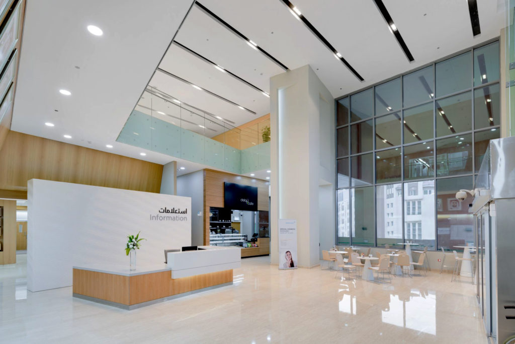 Hospital Designs Mediclinic North Wing And Hospital