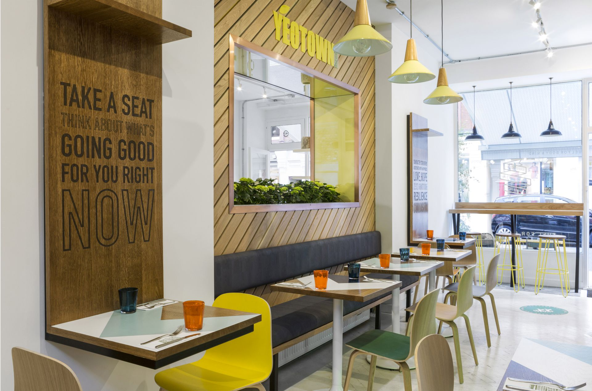 Hospitality Designs: Yeotown Kitchen, London - Love That Design