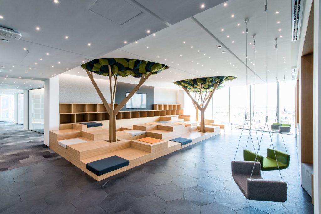Co-working Designs: D3 Business Center, Dubai