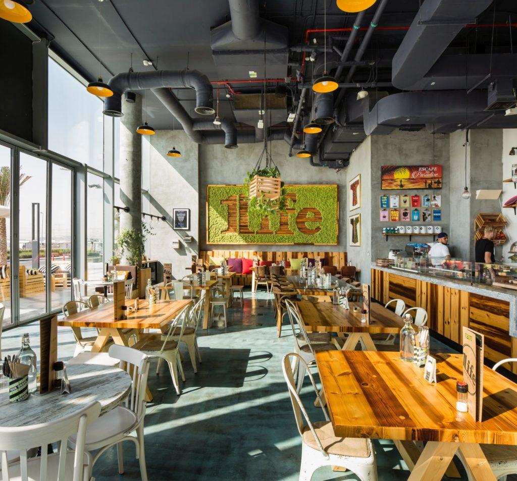 Restaurant Designs: One Life Kitchen & Café, Dubai
