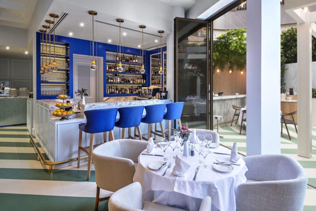 Restaurant designs scalini four seasons hotel dubai