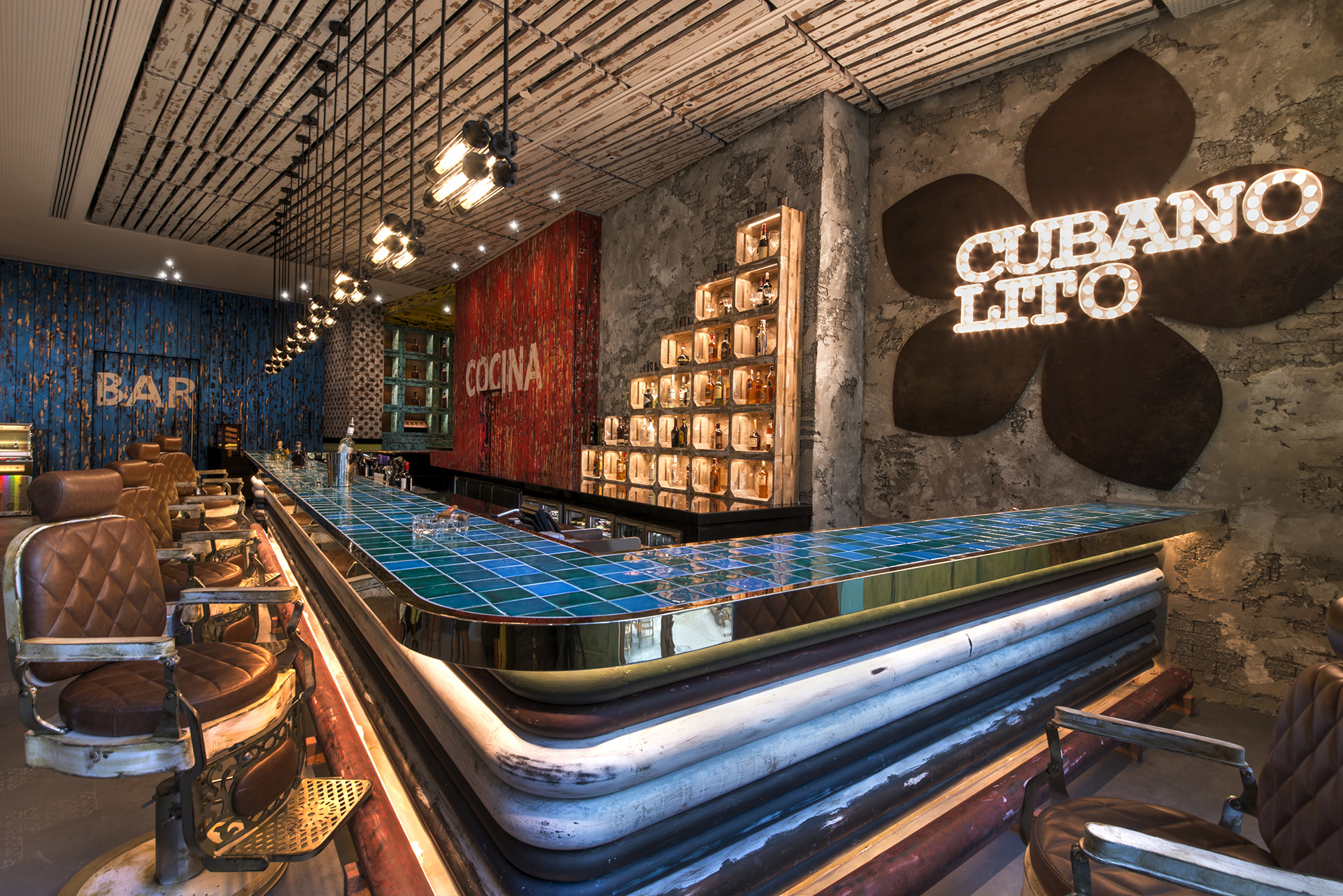 Hospitality Designs: Cubano Lito, Dubai